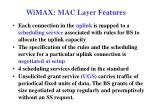 wimax mac layer features3