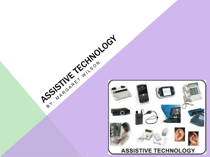 thesis on assistive technology The master's of education in special education with a focus on assistive technology is designed to prepare teachers and other professionals to support students by using assistive technology.