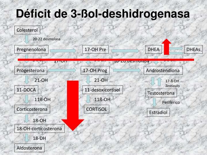Déficit de 3-ßol-deshidrogenasa