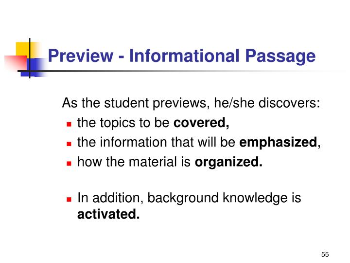 Preview - Informational Passage