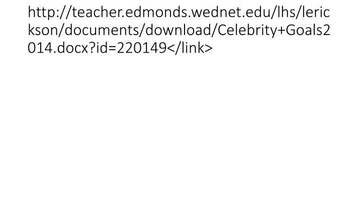 http://teacher.edmonds.wednet.edu/lhs/lerickson/documents/download/Celebrity+Goals2014.docx?id=220149</link>