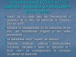 coincidimos desde ecosur con los objetivos planteadas por esta cumbre de los pueblos