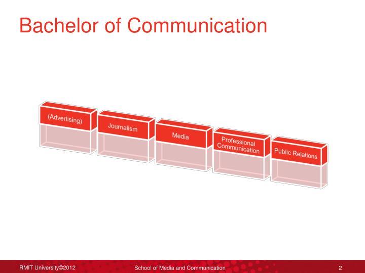 Bachelor of communication