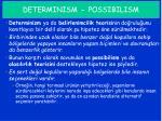 determinism possibilism2