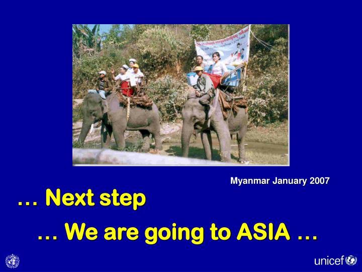 Myanmar January 2007