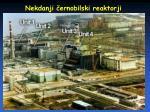 nekdanji ernobilski reaktorji