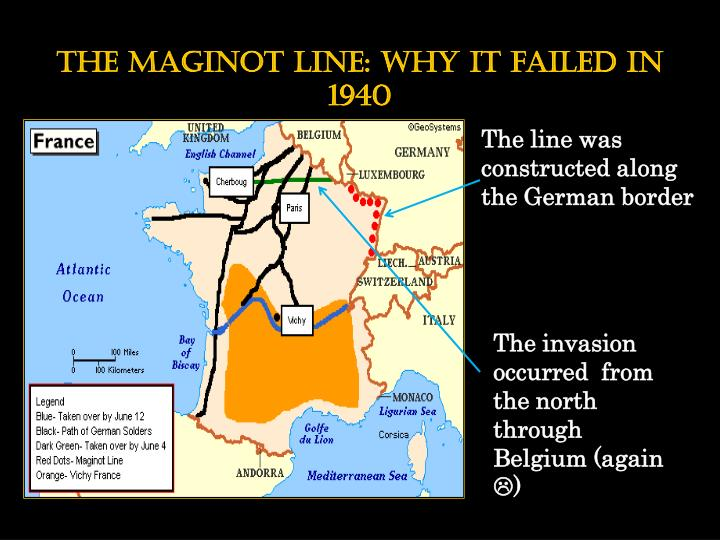 The maginot line: why it failed in 1940