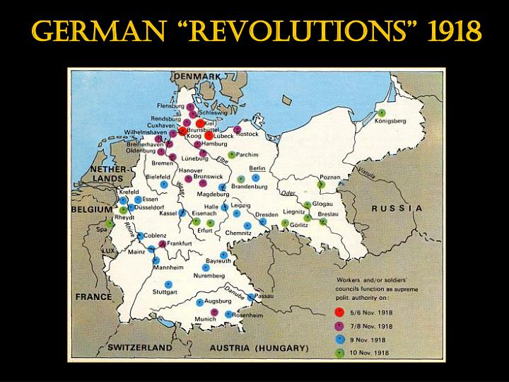 "German ""revolutions"" 1918"