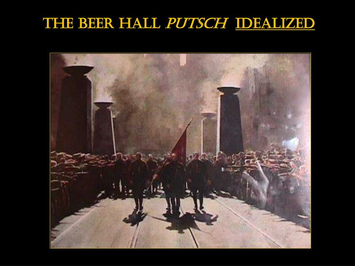 The beer hall