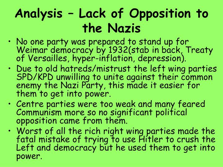 why was opposition to the nazis This was a song of the edelweiss pirates they were loosely associated groups primarily of lower and working class teens and they were the real resistance to the nazis during the thirties there was a vibrant youth movement in germany they were based in churches and community centers and like.