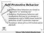 self protective behavior
