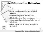 self protective behavior1