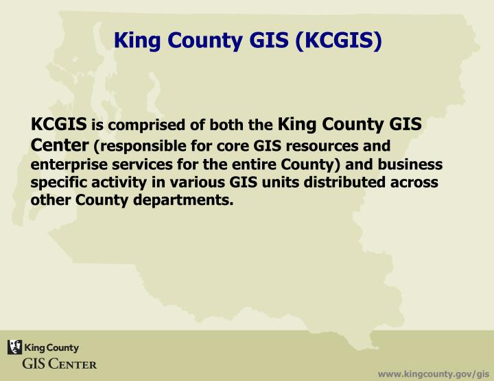 King county gis kcgis