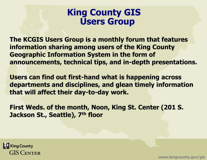 King County GIS