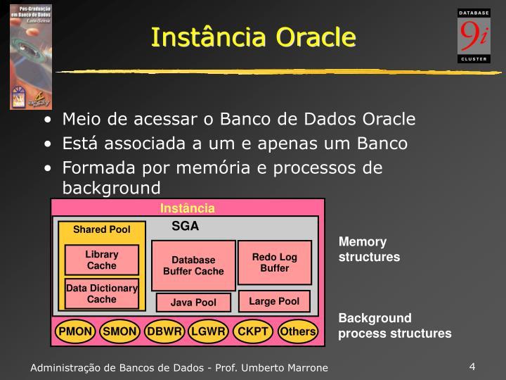 Instância Oracle