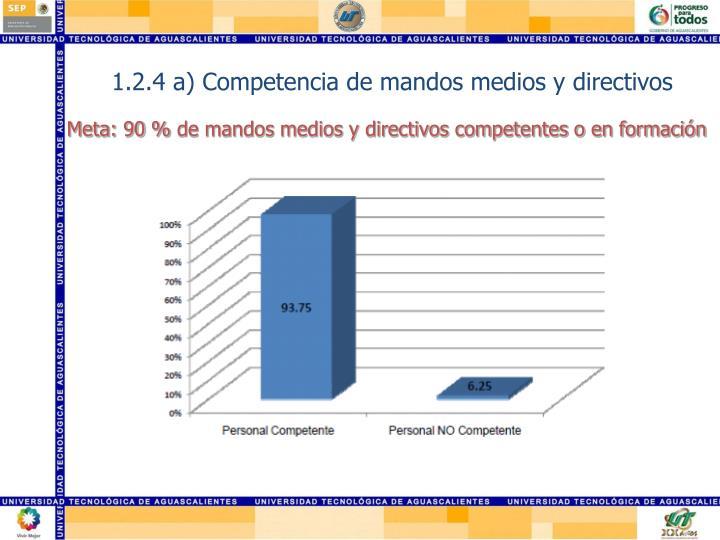1.2.4 a) Competencia