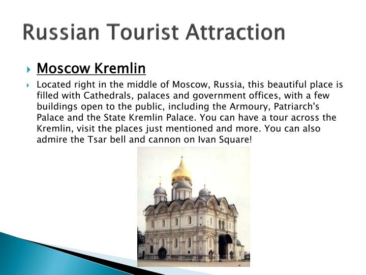 Russian Tourist Attraction