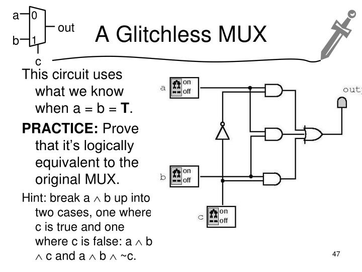 A Glitchless MUX