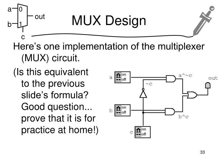 MUX Design