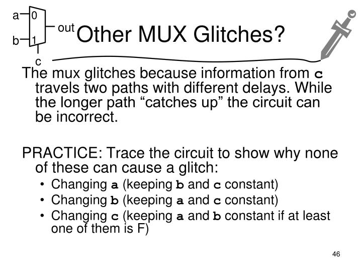 Other MUX Glitches?