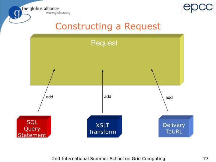 Constructing a Request