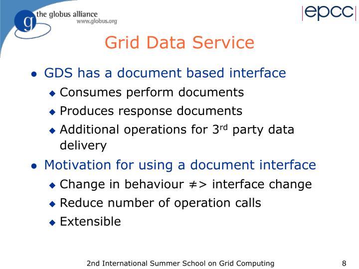 Grid Data Service
