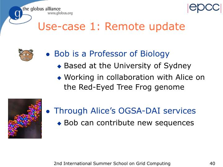 Use-case 1: Remote update