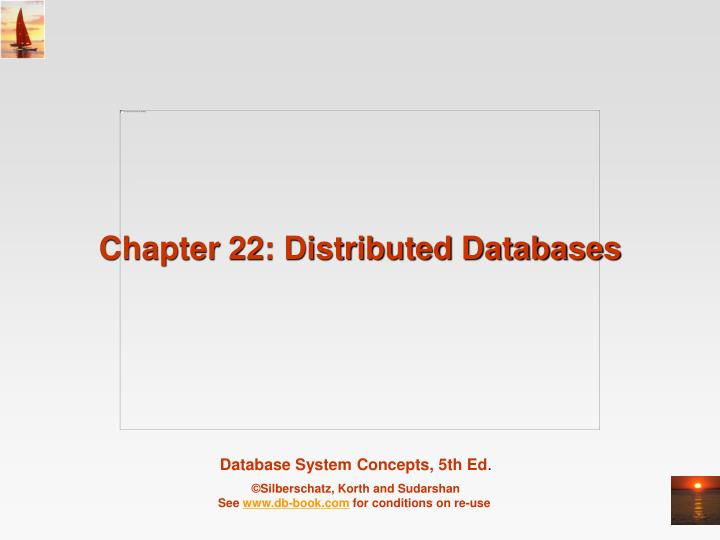 chapter 22 distributed databases n.