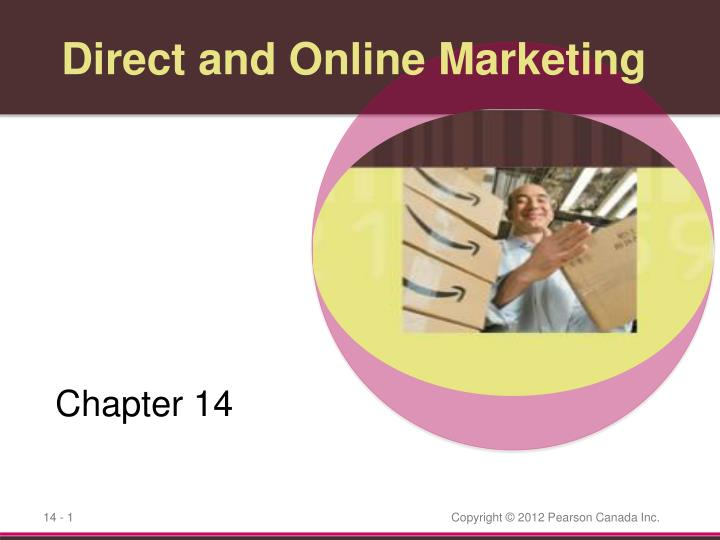 direct and online marketing n.