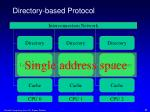 directory based protocol1