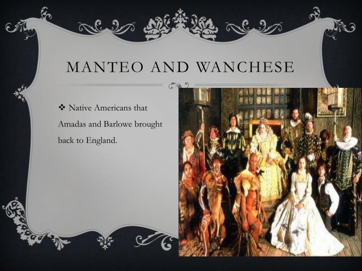 Manteo and