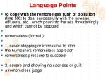 language points5