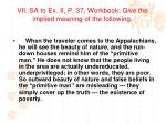 vii sa to ex ii p 37 workbook give the implied meaning of the following1