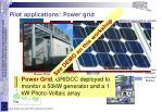 pilot applications power grid