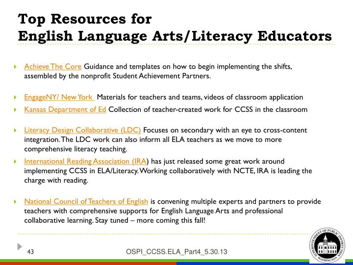 Top Resources for