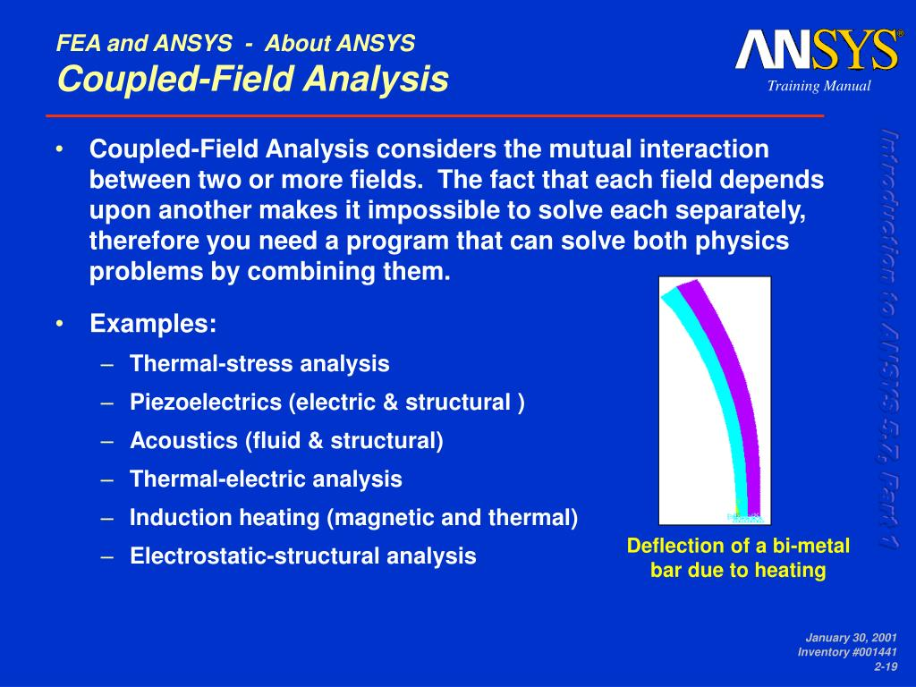 PPT - FEA and ANSYS PowerPoint Presentation - ID:3695703