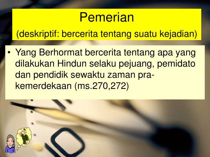 Pemerian