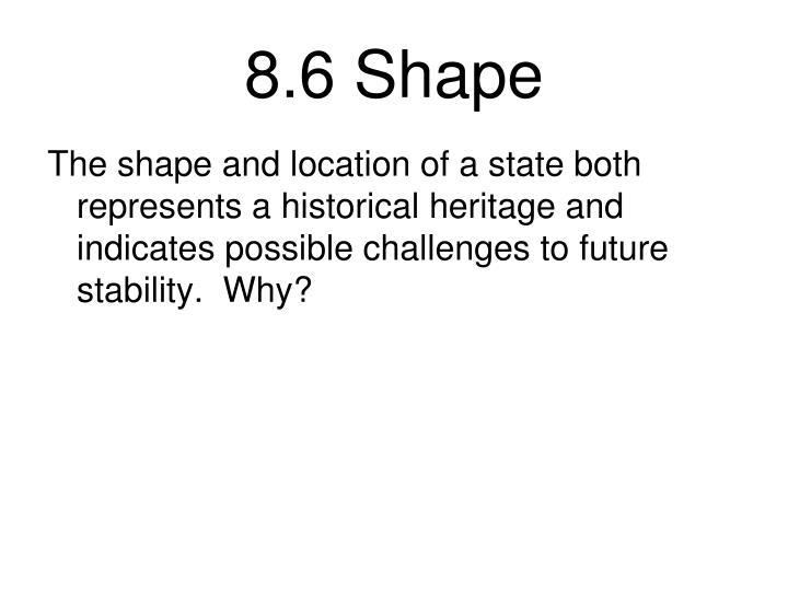 8.6 Shape