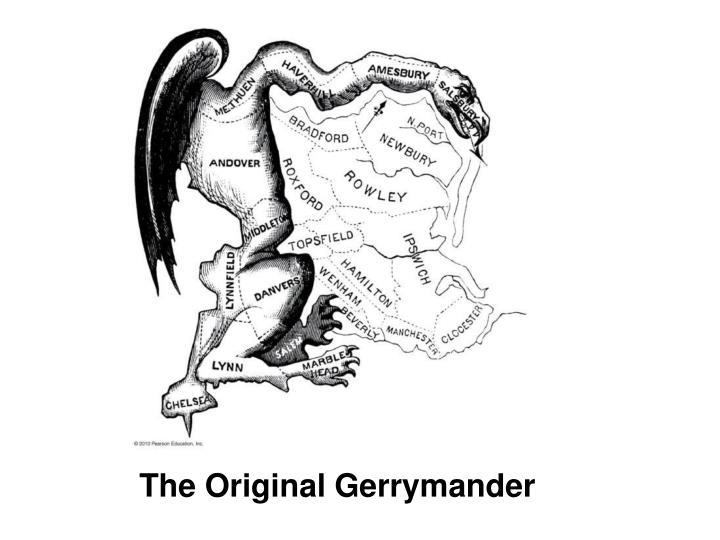 The Original Gerrymander