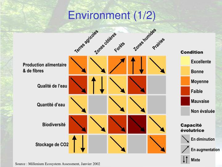 Environment (1/2)