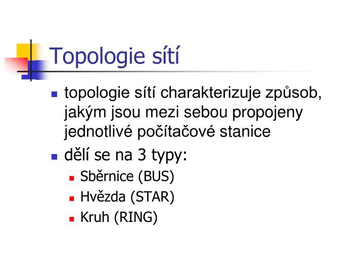 Topologie s t