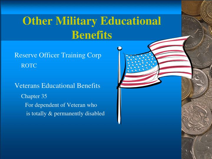 Other Military Educational Benefits