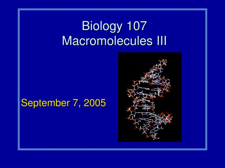 biological macromolecules 3 biological macromolecules what are biological macromolecules large molecules essential for life (macro=large) organic = carbon-based carbon is the building block of all life.