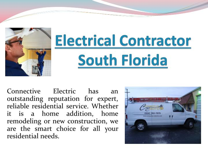electrical contractor south florida n.