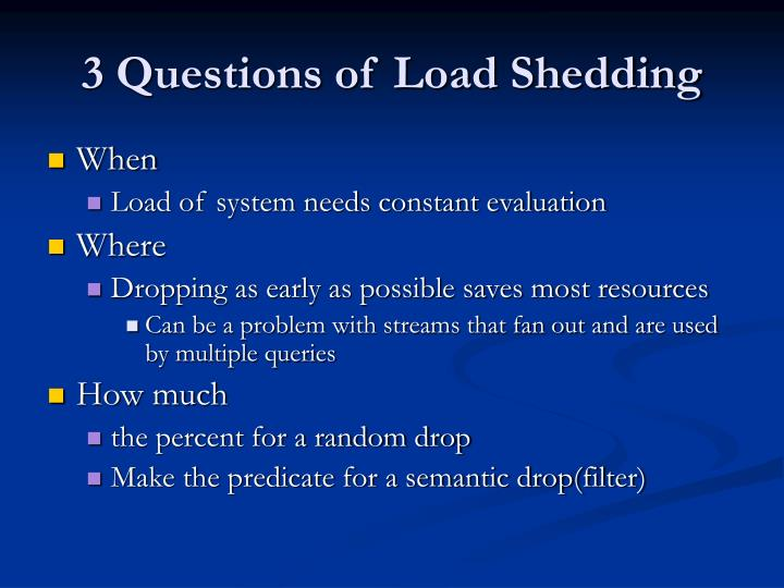 a paragraph on load shedding Load-shedding is the suspension of electricity supply on certain lines when demand is greater than the generation it occurs when the generation of power is less than the demand besides, unplanned distribution and illegal connection of electricity are also responsible for it.