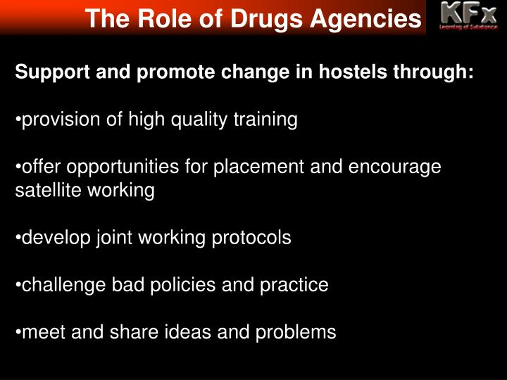 The Role of Drugs Agencies