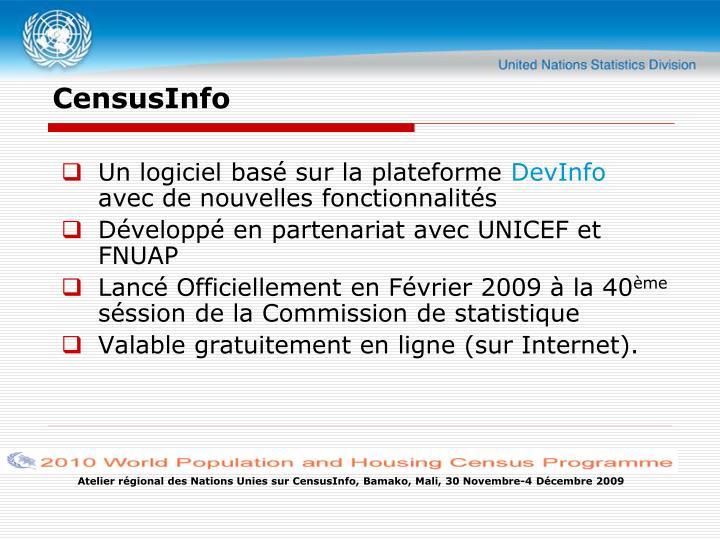CensusInfo