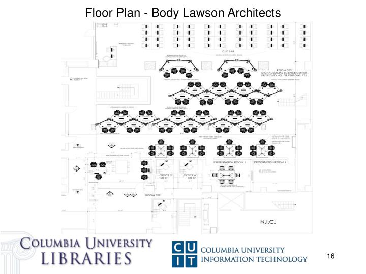 Floor Plan - Body Lawson Architects