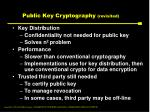 public key cryptography revisited