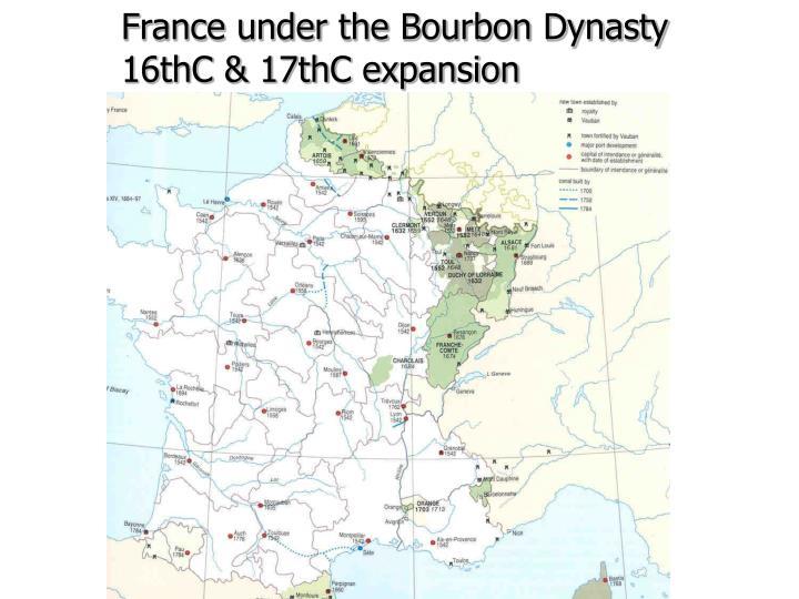 France under the Bourbon Dynasty